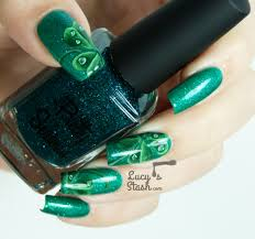 four leaf clover nail art for st patrick u0027s day lucy u0027s stash