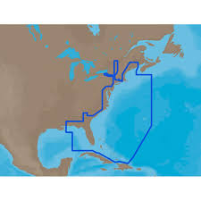 Map East Coast C Map Max Na M024 U S West Coast U0026 Hawaii C Card Marine