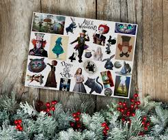 buy stickers tim burton u0027s alice the nightmare before christmas on