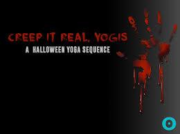 a halloween yoga sequence so good it u0027s scary beyogi