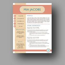 Creative Resume Sample by 175 Best Creative Cv Template Images On Pinterest Resume