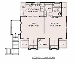 1 Bedroom House Plans by Cottage Style House Plan 1 Beds 1 00 Baths 646 Sq Ft Plan 140 132