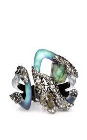 crystal snake bracelet images Imperial noir extra large crystal lace snake bracelet moda operandi jpg