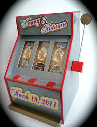 Money Wedding Gift Musing With Marlyss Slot Machine Gift Card Money Boxes For
