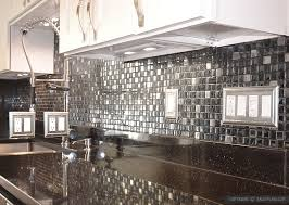Black Granite Countertops Backsplash Ideas Granite by Glass Tile Backsplash With Black Granite Countertops