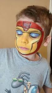 iron man makeup artistiron