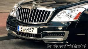 lexus za 2 miliony xenatech maybach 57sc start up rev acceleration youtube