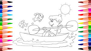 painting summer for kids coloring fun summer times coloring book