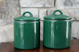 Green Kitchen Canister Set 28 Kitchen Canisters Green Hunting For Green Canisters