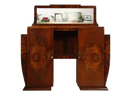 art deco sideboard console with mirror osvaldo borsani 1930s