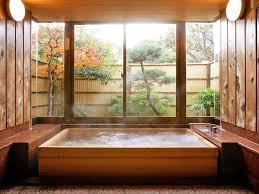 bathroom japanese style interior design rustic style bathroom