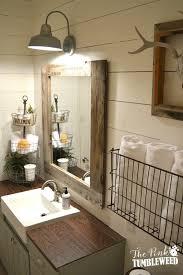 best 25 rustic bathroom decor best 25 rustic bathroom lighting ideas on with regard to