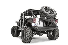 black jeep tires jeep jk rear bumper u0026 tire carriers fab fours