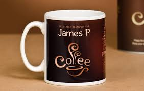 design coffee mug personalised coffee lovers mug bean design i just love it design
