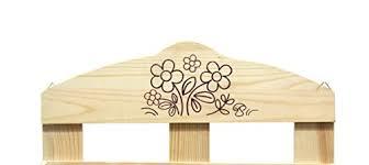 portaspezie in legno srl scaffali portaspezie 2 mensole legno naturale