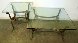 Metal Top Coffee Table Coffee Table Glass Top Coffee Tables With Wrought Iron Base Glass