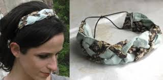 fabric headband no sew braided fabric headband from clothes