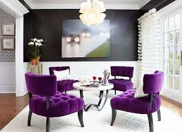 purple livingroom how to decorate your home with color pairs