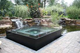 Backyard Pool Design And Spa Design Coordinated With Landscape - Backyard spa designs