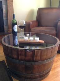whiskey barrel table for sale whiskey barrel coffee table for sale hand crafted wine barrel
