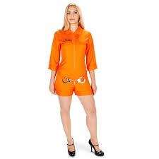 prison jumpsuit costume buy orange prisoner jumpsuit costume