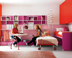bedroom ideas two tone stripes wall paint ideas teenage