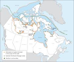Northern Canada Map by Chapter 3 U2014marine Navigation In The Canadian Arctic