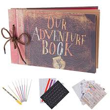 5 up photo album our adventure book pixar up handmade diy family