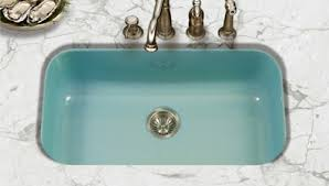 Blue Kitchen Sink Porcelain Enamel Kitchen Sinks In 3 Styles 8 Colors Including