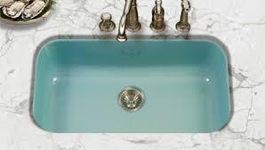 Porcelain Enamel Kitchen Sinks In  Styles  Colors Including - Porcelain undermount kitchen sink
