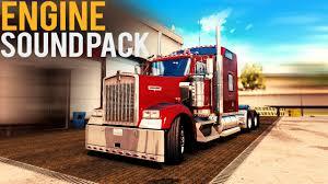 kenworth truck accessories kenworth w900 engine sound pack american truck simulator youtube
