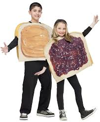 family theme halloween costumes peanut butter u0027n u0027 jelly kids costume funny costumes halloween