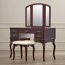 Antique Vanity Table With Mirror And Bench Ceiling Charming Vanity Table With Mirror For Home Furniture