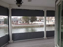 house porch side view custom enclosures for your deck porch or patio