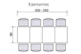 dimension table cuisine dimensions d une table pour 2 4 6 ou de personnes table