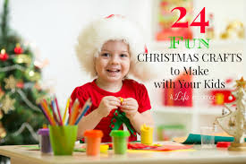 fun christmas crafts to make with your kids