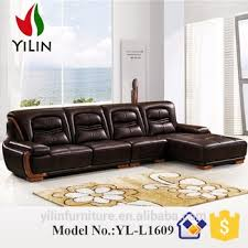 New Style Modern Corner Leather Sofa Designs Drawing Room Sofa Set - New style sofa design