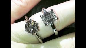 large diamond rings large diamond engagement rings