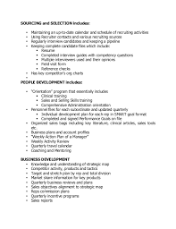 Recruiter Resume Example by 18 Recruiters Resume Sample Recruitement And Selection Of A