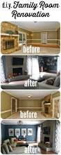 diy family room renovation and reveal