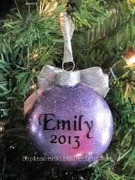 september ninth designs glitter ornaments