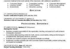 New Teacher Resume Examples Download Sample Resumes For Teachers Haadyaooverbayresort Com
