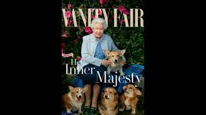 Queen Elizabeth Ii Corgis by Queen Elizabeth Ii Is Magazine Cover Star In Leibovitz Photo Wsoc Tv