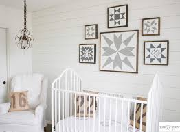 Decorating Nursery Walls White Shiplap Gender Neutral Nursery Reveal The Mountain View