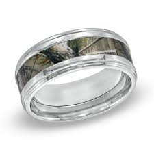 Mens Hunting Wedding Rings by Get The Nature With Camouflage Wedding Rings Rikof Com