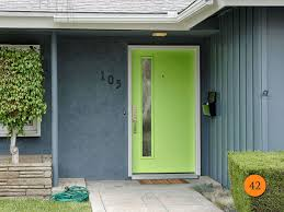 Exterior Doors With Glass Panels by Front Doors Cozy Contemporary Front Doors With Glass Modern