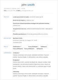 simple resume format exles basic resume formats simple resume templates free basic resume