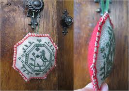 christmas ornaments threads of my life