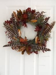 turkey feather wreath turkey feather fall wreath wreaths just wreaths