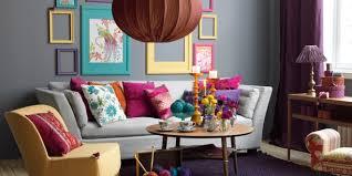 coussin déco canapé design interieur deco salon coussins mur gris table ronde canape